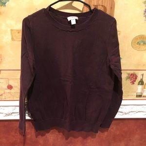 🌵LOFT brown pullover sweater